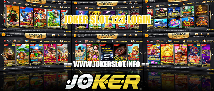joker slot 123 login