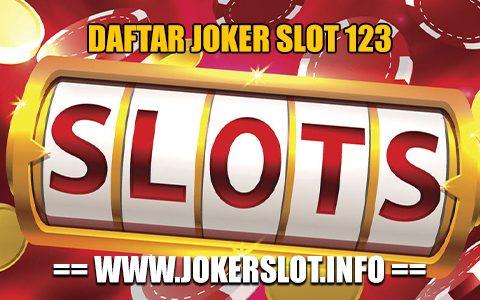 daftar joker slot 123